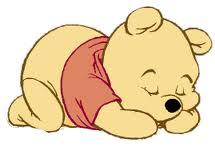pooh sleeping